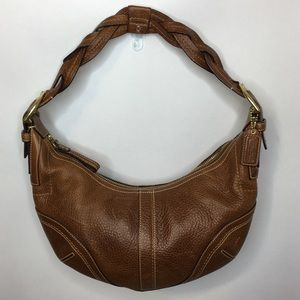Coach Vintage Soho Dylan Whiskey Brown Leather Bag